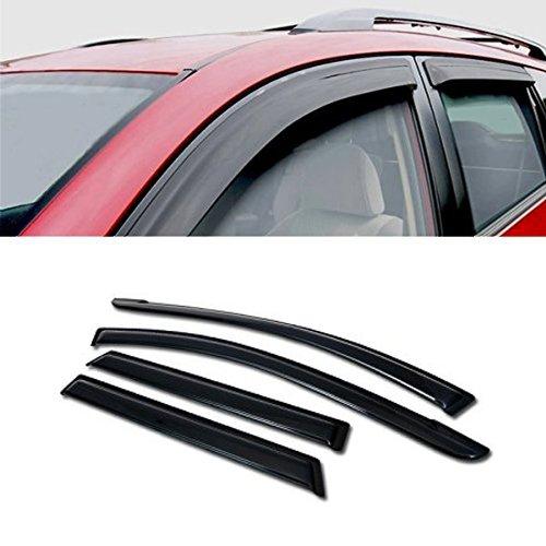 (for 2009-2014 Toyota Matrix All Models, 2009-2010 Pontiac Vibe All Models Sun/RAIN/Wind Guard Smoke Vent Shade Deflector Window Visor 4PCs)