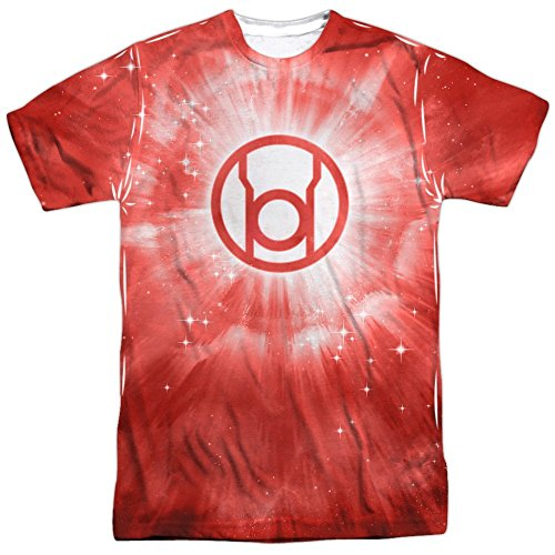 Energy -- Red Lantern All-Over Front/Back Print Sports Fabric T-Shirt