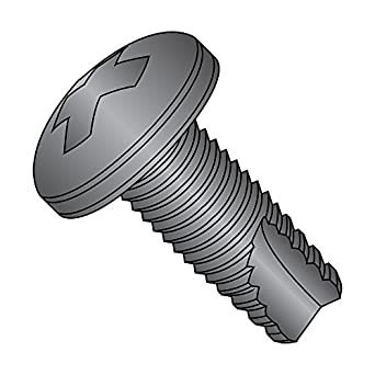 Type 23 3//4 Length #10-32 Thread Size Steel Thread Cutting Screw Pack of 50 Phillips Drive Truss Head Zinc Plated Finish