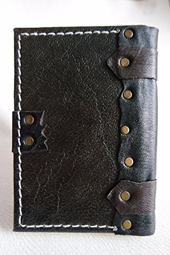 Handmade leather journal leather notebook leather diary//small size leather sketchbook //creased workmanship leather bound,blank book,monogram