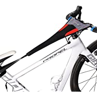 RockBros Bicycle Trainer Sweat Net Frame Guard Absorbs...