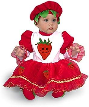 disfraz de carnaval fresa - 80-82 cm: Amazon.es: Juguetes y juegos