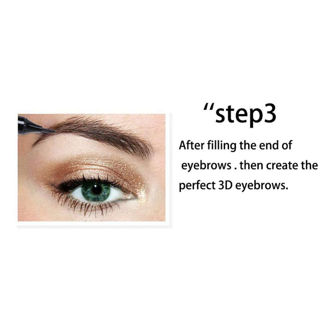 Chiak Bulges New Fashion Makeup Cosmetic Natural Long-lasting Waterproof Eyebrow Pen Eyebrow Color Active Vests