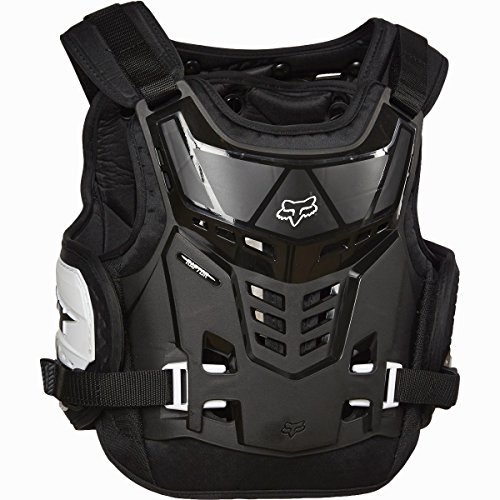 - Fox Racing Youth Raptor Proframe LC Protector-Black/White