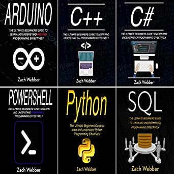 Coding Languages for Absolute Beginners: 6 Books in 1