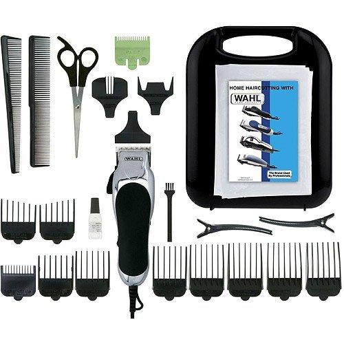 Wahl Corded Chrome Pro 24-Piece Haircut Kit Chrome Pro Haircut Kit