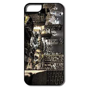IPhone 5/5S Covers, New York City Night Lights White/black Protector For IPhone 5