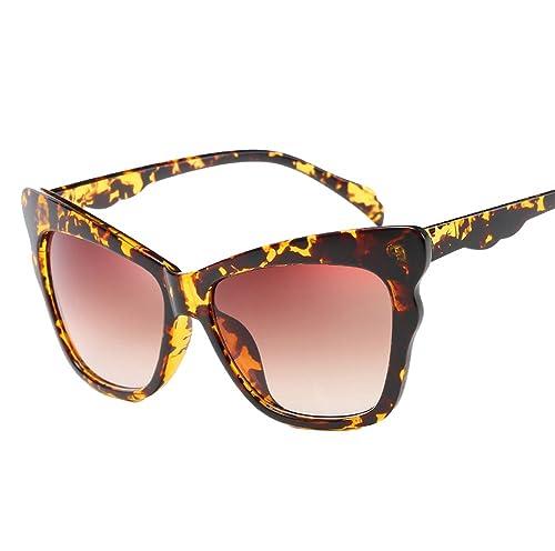 Hombre Mujer Al Aire Libre AC Lente UV400 Ojos De Gato Gafas De Sol Gafas