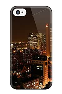 Jose Cruz Newton's Shop Best 1544273K71032660 Iphone 4/4s Case Cover - Slim Fit Tpu Protector Shock Absorbent Case (manhattan Downtown)