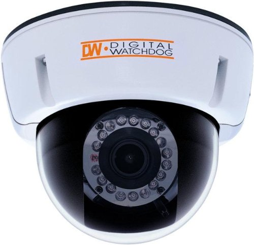 Digital Watchdog DWC-D2363TIR Indoor Dome Camera, STAR-LIGHT Series, 560 TV Lines, 3.3~12 mm Lens