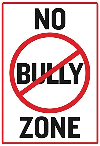 No Bully Zone Classroom Poster 13 x 19in Bully Poster