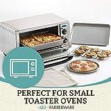 Farberware Bakeware Steel Nonstick Toaster Oven Pan