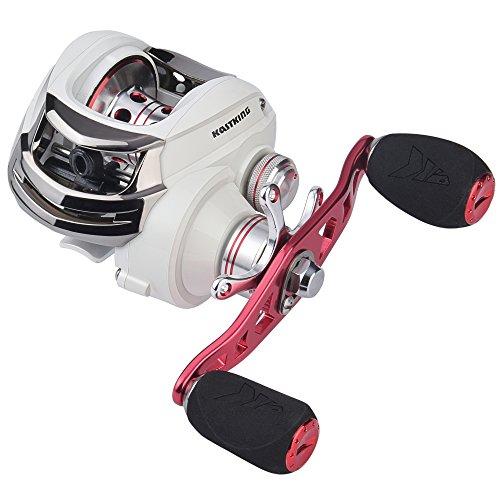 KastKing WhiteMax Baitcasting Fishing Reel,5.3:1 Gear Ratio,Left Handed Reel