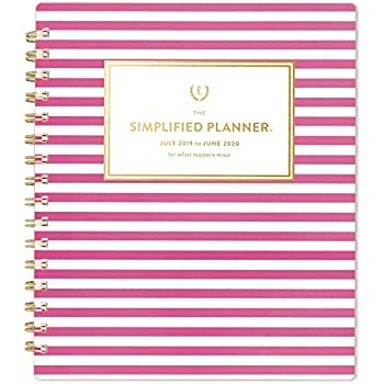 Amazon.com : Simplified by Emily Ley 2020 Weekly & Monthly ...