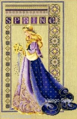 Cross Stitch Lavender Designers - Celtic Spring - Counted Cross Stitch Chart