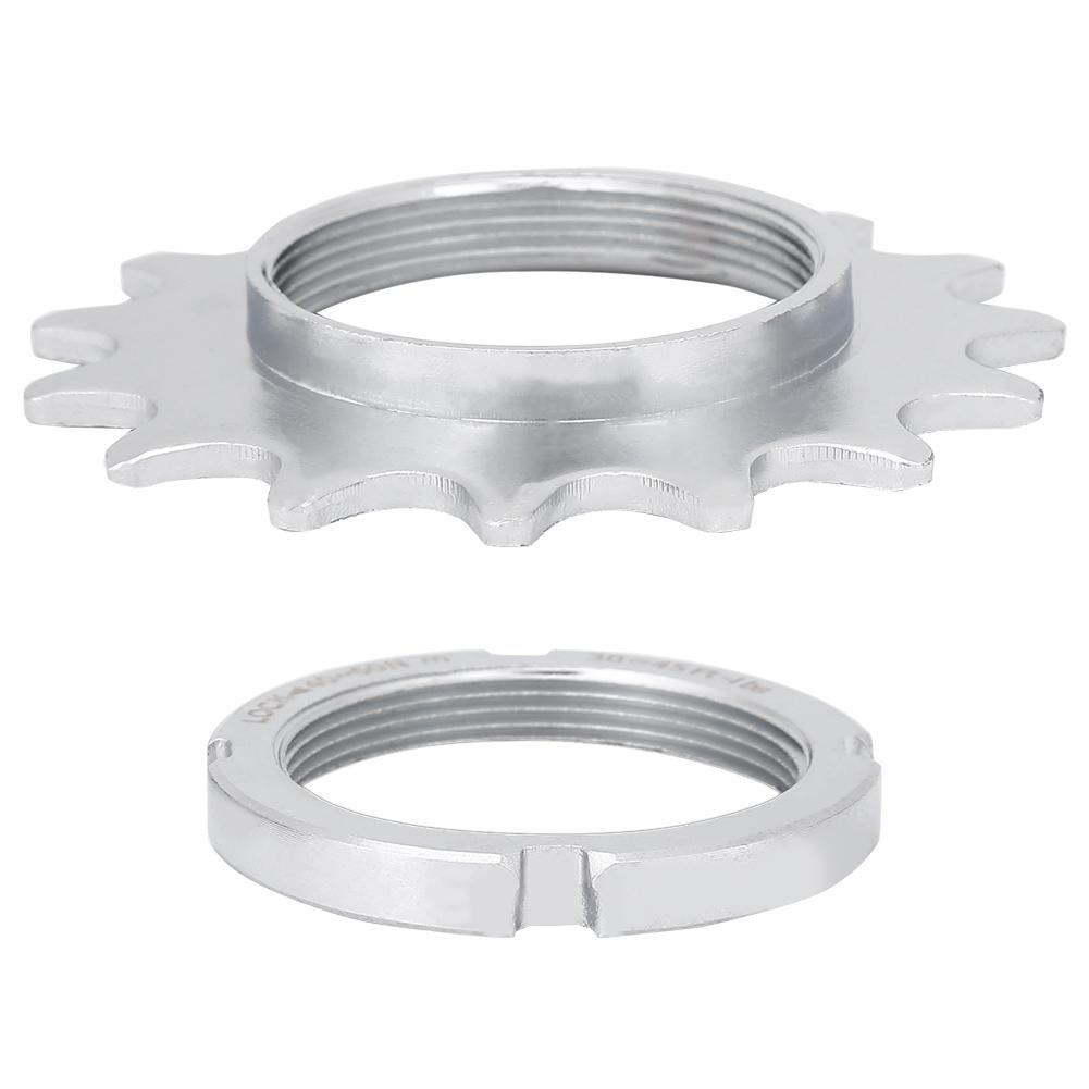 Dioche Single Speed COG Lock Ring Single Speed Freilauf 13//14//15//16 Bike Freilauf Stahl COG Fixed Gear Cogs