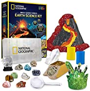 NATIONAL GEOGRAPHIC Mega Science Kits – Experiments and Activities Sets, Learn About Earth, Chemistry, Physics