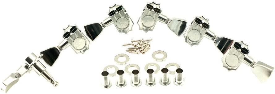 SCHALLER GROVER AND GOTOH TUNERS NICKEL TUNING MACHINE SCREWS FITS