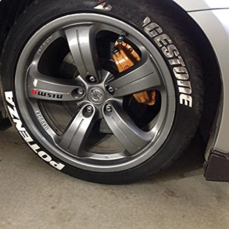 Amazon.com: Tire Stickers - Replacements - Tire Lettering ...