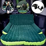 Wolfwill Universal SUV Travel Air Mattress - Multifunctional Mobile Inflatable Air Bed Cushion Dedicated for Sleep Rest and Intimate Motion (Green)
