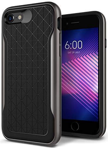 Caseology Apex for Apple iPhone 8 Case (2017) / for iPhone 7 Case (2016) - Black/Warm Gray