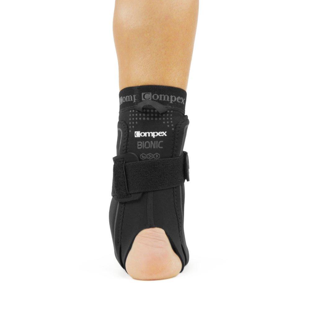 Nero Cavigliera con Chiusura A Velcro Uomo XS Compex Bionic