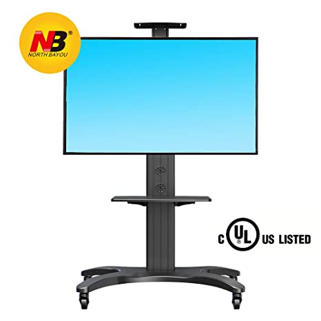 "NB North Bayou 32""-65"" Universal Soporte Móvil TV Altura Ajustable Soportes TV"