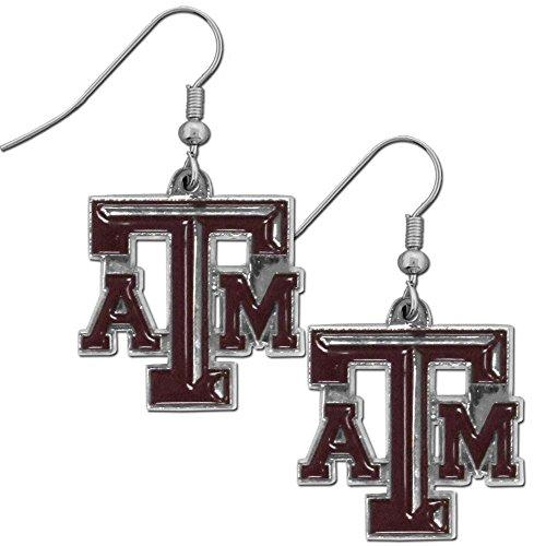 - NCAA Texas A&M Aggies Women's Chrome Dangle Earrings