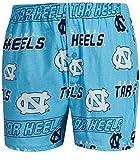 UNC Tar Heels Mens Carolina Blue AOP Cotton Slide Boxer Shorts (M=34/35)