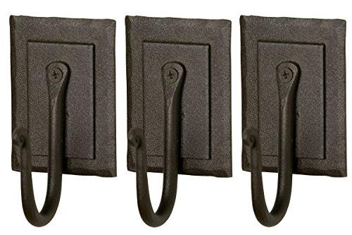 IRON CRAFT Blacksmith Handmade Hook #39065 - Set of 3 (Black) cheap