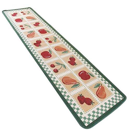 Tapis de cuisine gris tapis de crateur style carreaux en for Tapis de cuisine 50 x 200