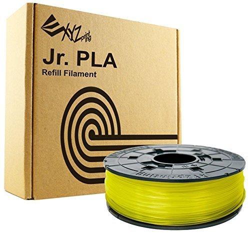 XYZprinting RFPLCXEU03J Filamento PLA, 600 g, para impresión 3D Amarillo Claro