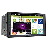 """New Developed JOYING 7"""" Tablet Android 4.4 Quad Core 1.8GHz 1024600 Touch Screen Car Stereo Indash Radio Double 2 Din Head Unit GPS with Navigation Bluetooth/Re-map Touch Key/Sleep Mode"""