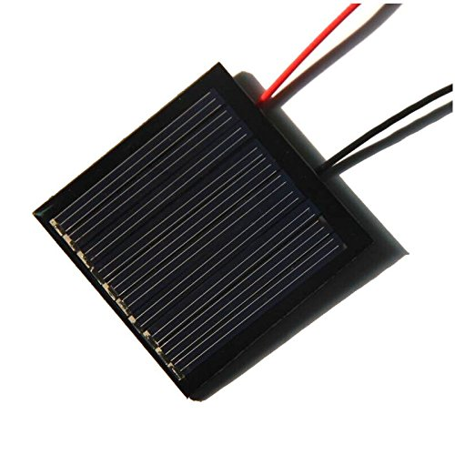 TOOGOO(R) 0.25W 5V DIY solar panels Dijiao board then electronic wire polysilicon board 45 * 45MM