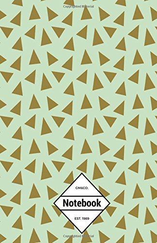 "Read Online GM&Co: Notebook Journal Dot-Grid, Lined, Graph, 120 pages 5.5""x8.5"" (Brown Triangle Green Pattern) ebook"