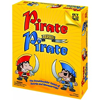 Pirate Versus Pirate - The Swashbucklin' Game of Swords and Rewaaarrrds