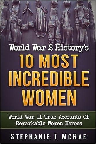 Book World War 2 History's 10 Most Incredible Women: World War II True Accounts Of Remarkable Women Heroes (ww2 books, ww2 history, ww2 women, Army women, Military)