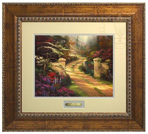 (Spring Gate - Thomas Kinkade Prestige Home Collection (Gold))