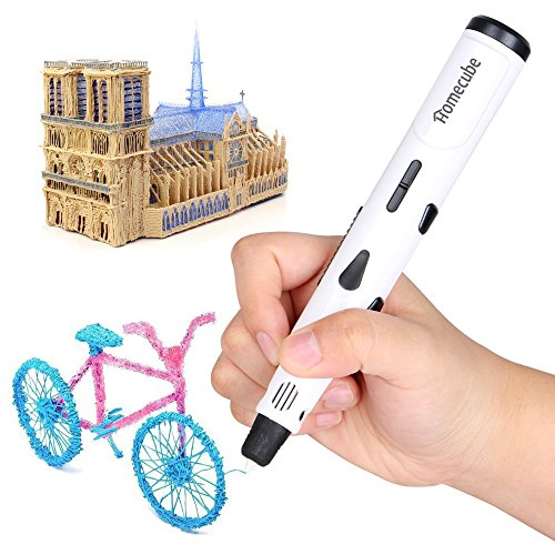 -[ 3D Printing Pen, Homecube 3D Drawing Painting Pen 3D Arts Craft Doodle Pen with Safety Holder an