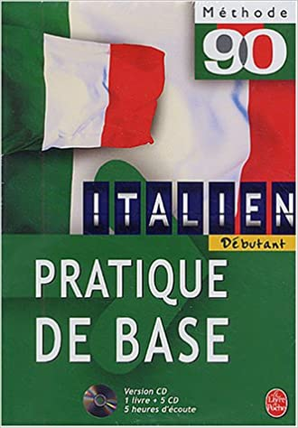 Methode 90 Italien Pratique De Base 1 Livre Coffret De