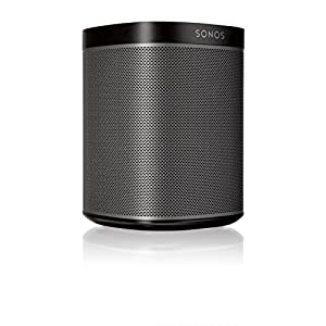 Sonos Original Play:1 - Compact Wireless Speaker for streaming music. Compatible with Alexa devices for voice control. (metallic black)