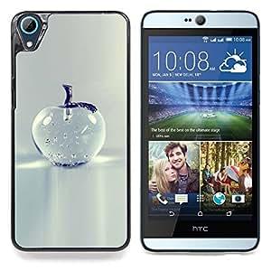 """For HTC Desire 826 Case , Cristal de Apple Bastante gris minimalista"""" - Diseño Patrón Teléfono Caso Cubierta Case Bumper Duro Protección Case Cover Funda"""
