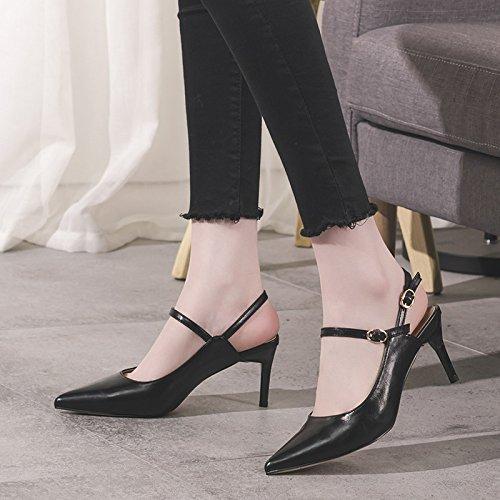 De Zapatos Corte beige eu 34 uk Plataforma Tacón 2 Punta Alto 7 Del Las El En Mujeres Stilettos Negro Pie Alto Bombas Vestido Resbalón Dedo Talón La TgI41xZ