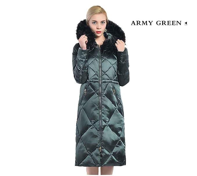 3a00b795a541f Abrigo de mujer de invierno Parka Ropa de piel sintética grande Abrigo de mujer  caliente Chaqueta