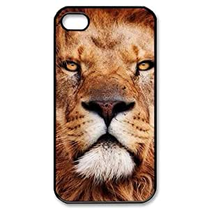 Lion CUSTOM Case Cover for iPhone 4,4S LMc-83403 at LaiMc