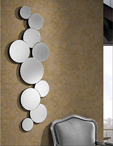 Giner Y Colomer Espejos Modernos Cristal Circulos Ii Cristal - Espejos-modernos