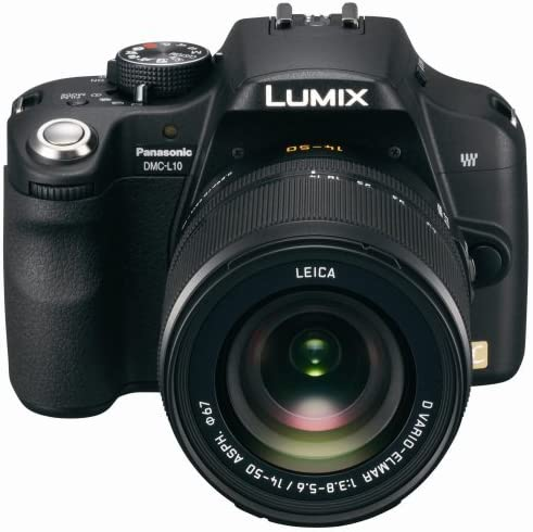 Panasonic Lumix DMC-L10K - Cámara Réflex Digital 10.1 MP (Objetivo ...