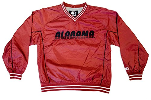 NCAA Licensed Alabama Crimson Tide Youth Pullover Windbreaker Jacket (Large) (Starter Hoodie Men compare prices)