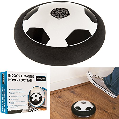 Air Power Soccer Disk Children's Hover Glide Football Disc Indoor Outdoor Toy