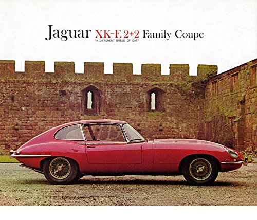 1966 Jaguar XKE 2+2 Factory Photo